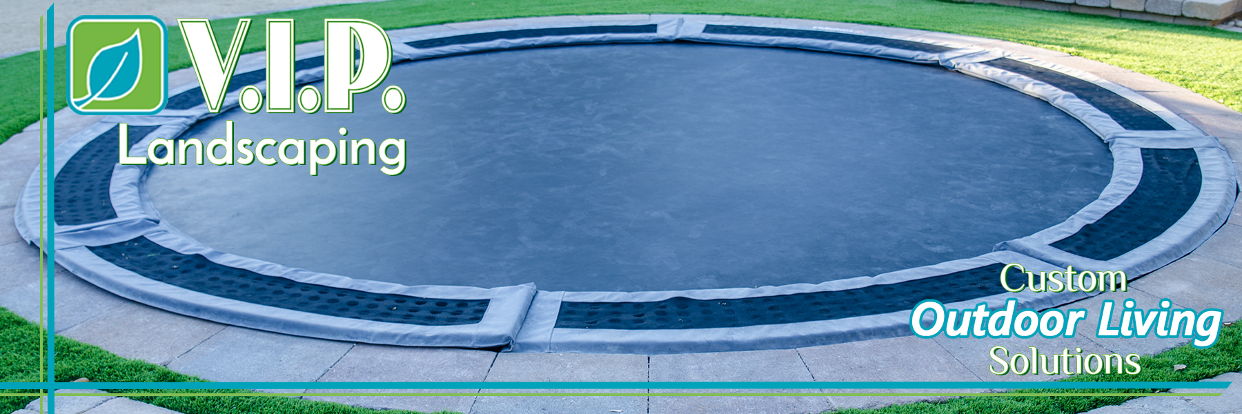 Custom pool covers by VIP Landscaping And Lawn Care