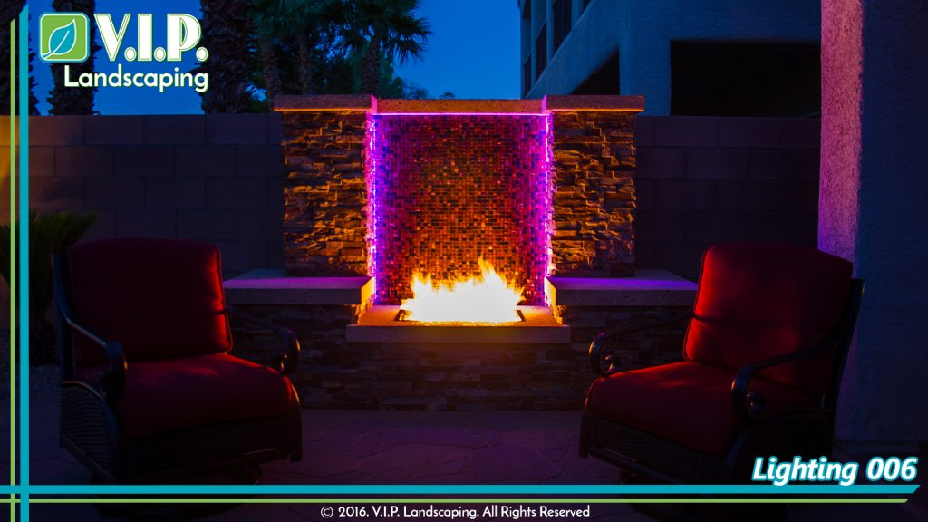 Low voltage lighting for back yards in Las Vegas